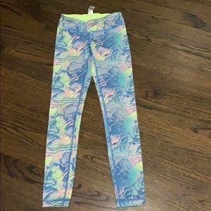 Ivivva water color leggings